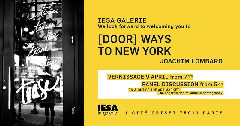 Door ways to New York IESA Exhibition