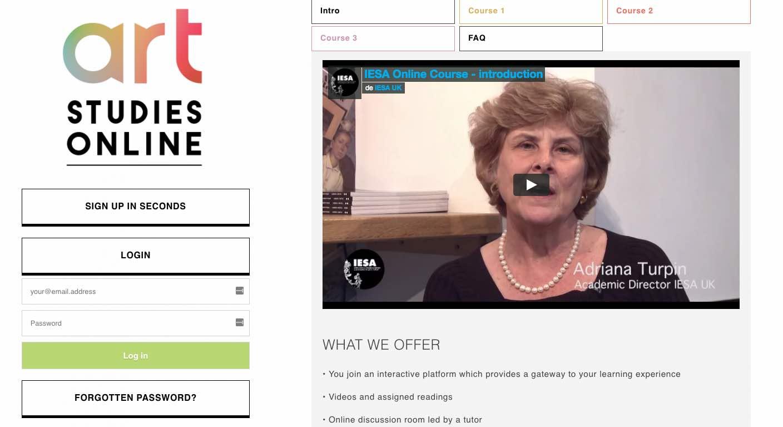 Art Online courses