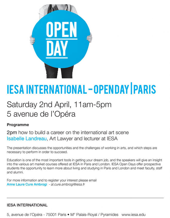 IESA International Open Day