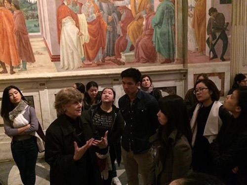 iesa art&culture international en voyage à florence